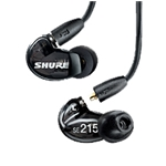 SE215-CL Shure Sound Isolating Earphones, Clear