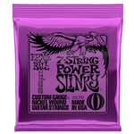 Ernie Ball 2620 Power Slinky Nickel Wound, 7-String