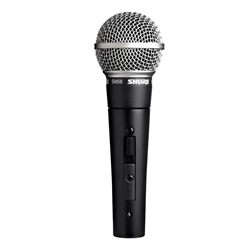 SM58S Shure Cardioid Dynamic Microphone with On/Off Switch