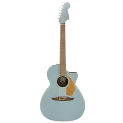 Fender Newporter Player, Ice Blue Satin